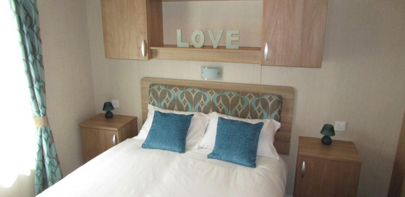 2012 Swift Bordeaux master bedroom