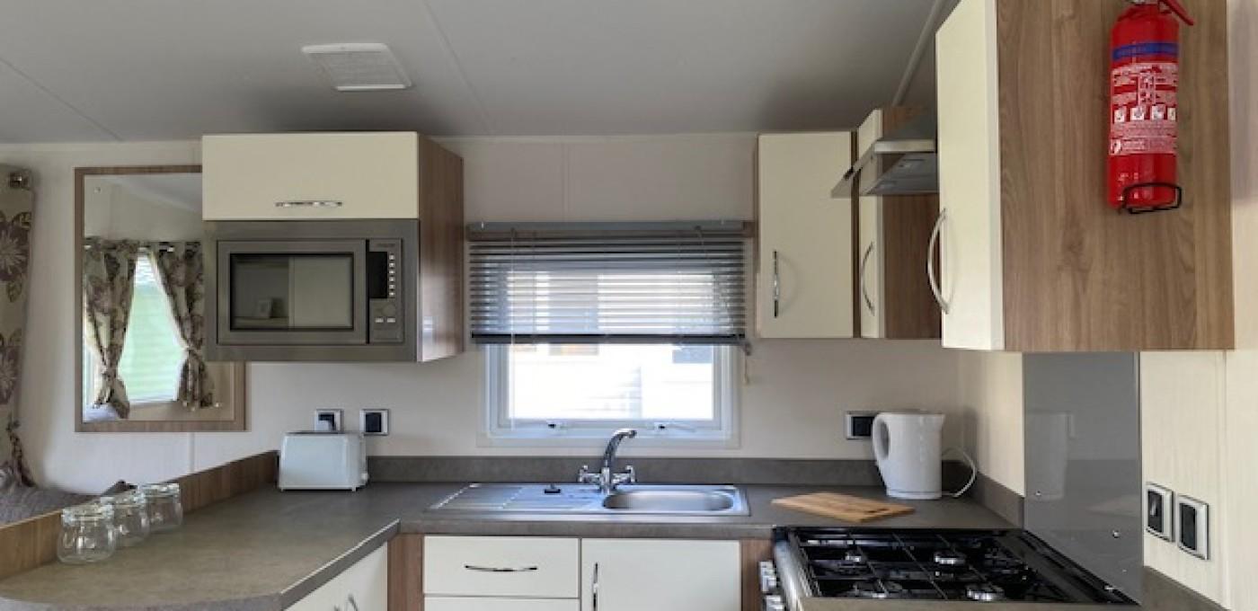2014 Willerby Rio Premier kitchen area