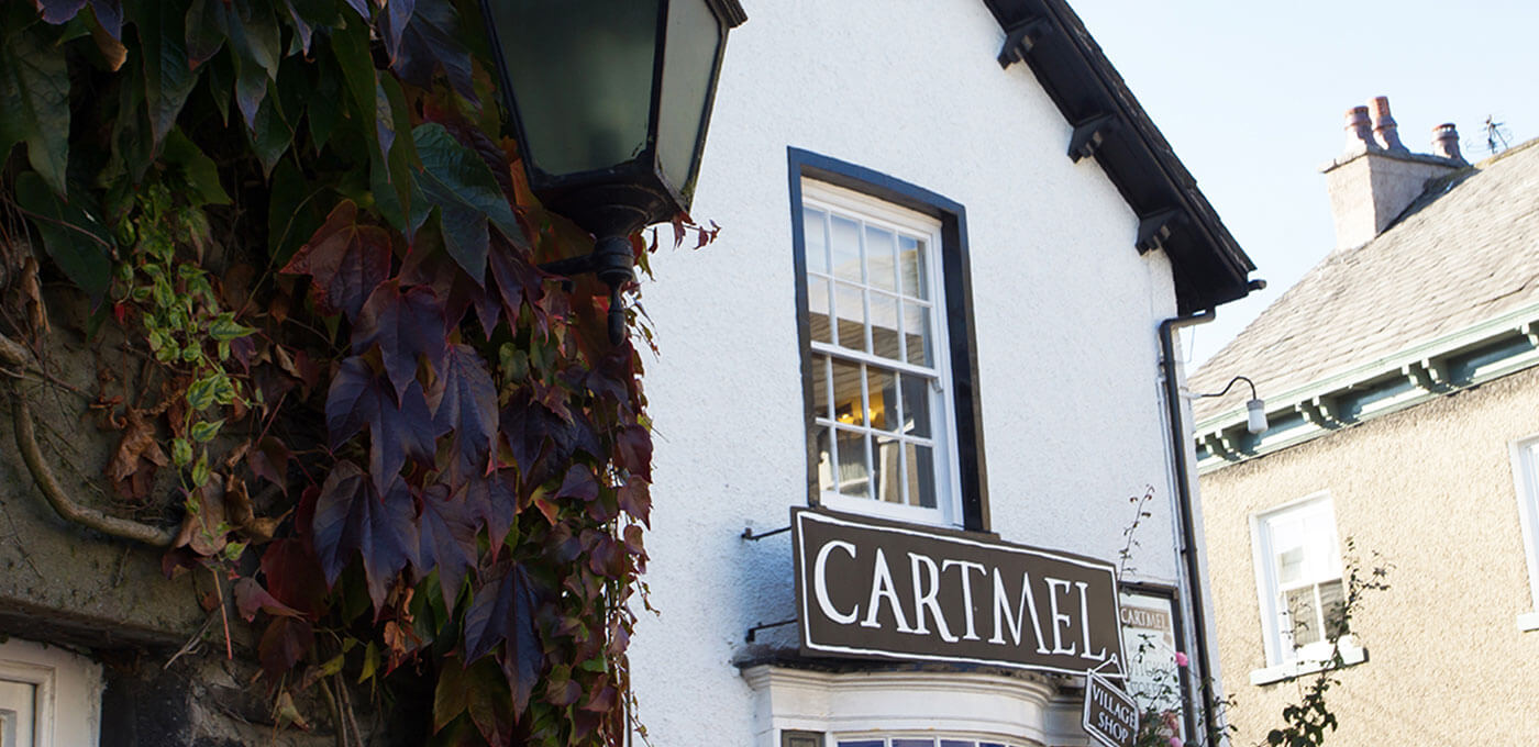Cartmel Village Shop Banner