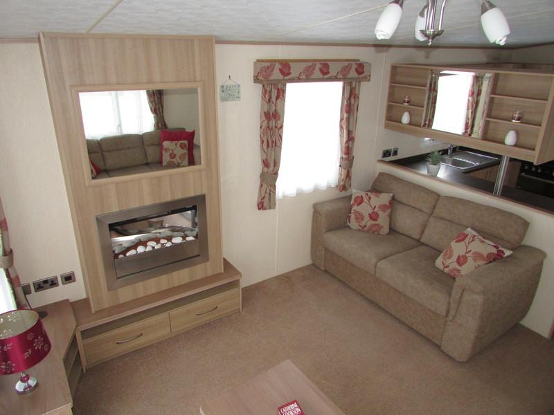 2012 Abi Derwent static caravan lounge