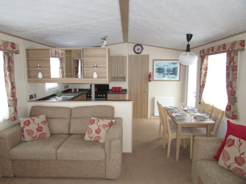 2012 Abi Derwent static caravan interior