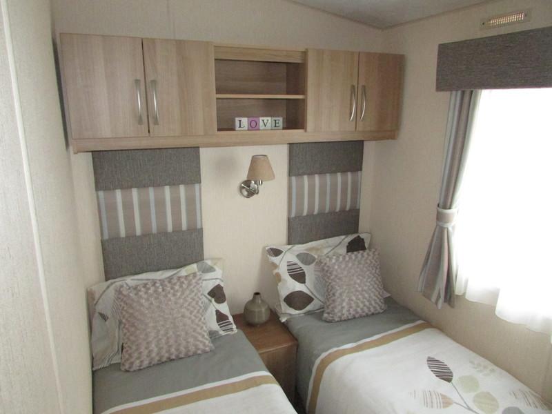2012 Abi Derwent static caravan twin room