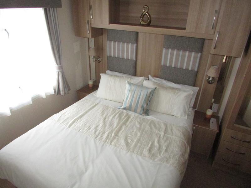 2012 Abi Derwent static caravan master room