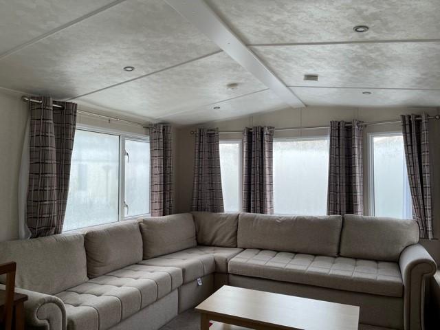2017 Victory Coaster static caravan lounge