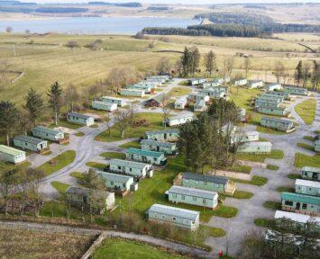 Aerial Shot of Village Green