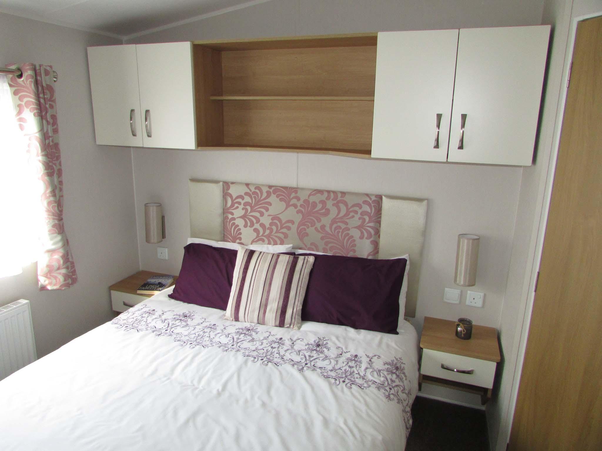Willerby Sierra 2017 bedroom