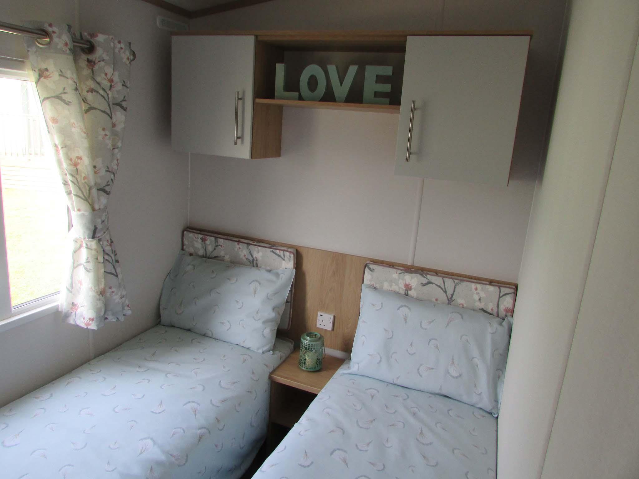 Carnaby Silverdale 2021 bedroom