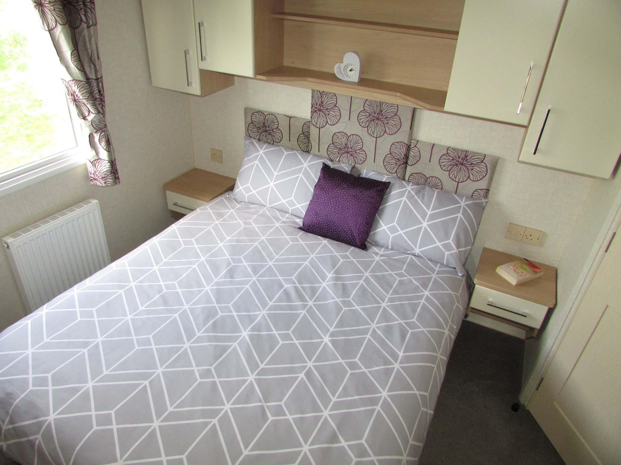 Willerby Sierra 2013 bedroom
