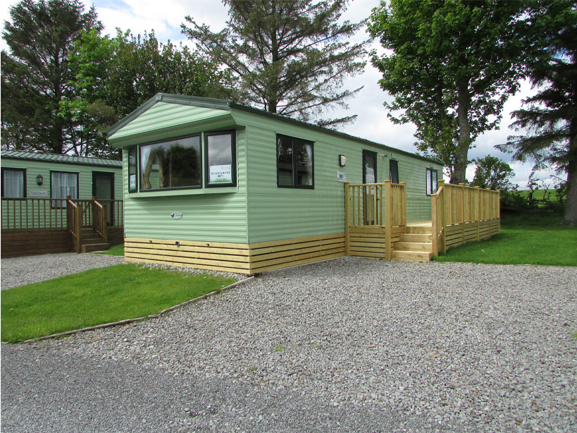 Willerby Rio Gold 2011 outside