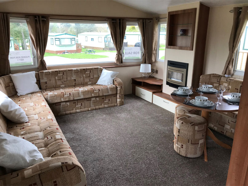 Willerby Rio Gold 2011 living area